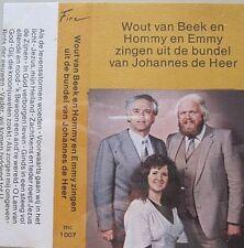 WOUT VAN BEEK - HOMMY EN EMMY  - ZINGEN UIT DE BUNDEL JOH.DE HEER  -  MC