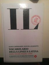 Dizionario Latino, IL Castiglioni Mariotti. 4ª Edizione