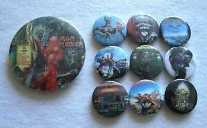Iron Maiden Job Lot  10 x Badges  #7