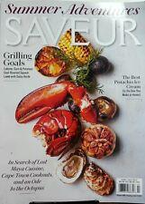 Saveur June July 2017 Grilling Goals Lobster Corn Potatoes FREE SHIPPING sb