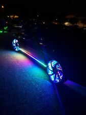 FIA Chasing Dream Color Bluetooth LED 4x Wheel Ring Lights + 2x LED Light Strips