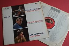 ASD 655 1st Semi Elgar Cello Concerto Jacqueline Du Pre Sea Pictures Baker HMV