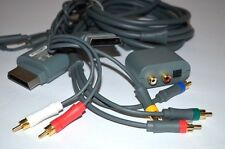 Genuine Microsoft Xbox 360 Play Charge Kit HD AV Component Audio Adapter Cable