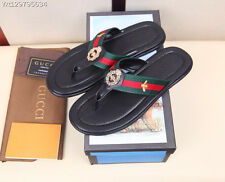 2017 New fashion Gucci Men's slipper sandal with bee size:10