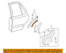 TOYOTA OEM 96-98 4Runner Front Bumper-Flare Pad 7576735020