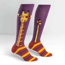 Sock It To Me Women's Funky Knee High Socks - Geo-raffe