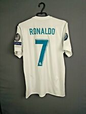 Ronaldo Real Madrid Jersey 2017/18 Home MEDIUM Shirt Camiseta Adidas AZ8059 ig93