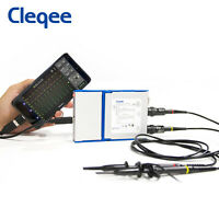 Android&PC Virtual Digital USB Oscilloscope Handheld Dual Channel 20MHz/50MHz