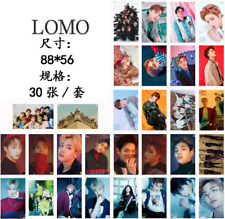 30pcs/set KPOP NCT U 127 Dream Photo Card Collective Postercard LOMO Cards Gifts