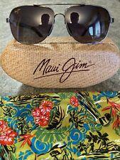Maui Jim® GUARDRAILS MauiFlex™ Gloss Black/Neutral Grey Polarized Sunglasses NEW