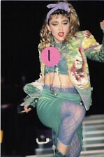 MADONNA VIRGIN TOUR 7 - 4X6 COLOR CONCERT PHOTO SET #2A