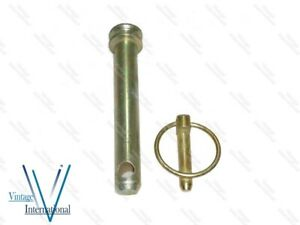 Massey Ferguson Tractor 65 165 178 Top Link Pin Cat 2 With lynch pin @Vi