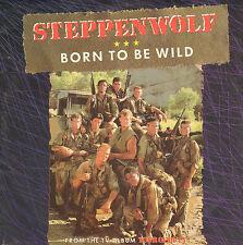 """STEPPENWOLF – Born To Be Wild (1990 REISSUE VINYL SINGLE 7"""" DUTCH PS)"""