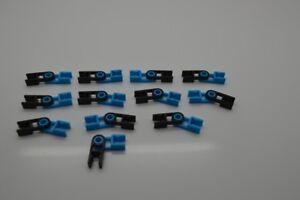K'NEX 12 Complete Hinges Black & Blue
