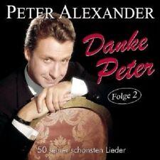 PETER ALEXANDER - DANKE PETER-FOLGE 2-50 SEINER SCHÖNSTEN LIEDER 2 CD NEU