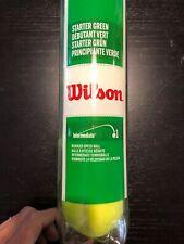 Wilson Tennis Balls  Starter Green
