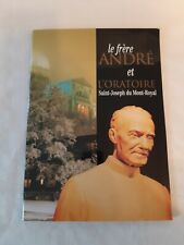 le Frère André . Frere Andre . Brother Andre magazine or booklet