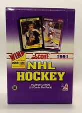 1991 Score NHL Hockey Card Box 36 packs Factory Sealed