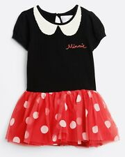 Baby Gap Girls Disney Minnie Mouse Tulle Dress 3-6 Months NWT