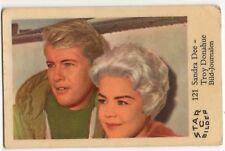 1960s Swedish Film Star Card Bilder C #121 US Actors Sandra Dee & Troy Donahue