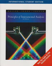 NEW w/ Color Principles of Instrumental Analysis 6E Holler Skoog Crouch 6th Ed