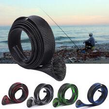 Durable 170cm 35mm Fising Rod Coer Spinning Casting Mesh Tube Sleeves Pole Bag
