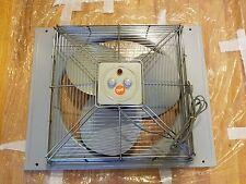 VINTAGE Rare Large Diehl Window Fan Air Circulator Reversible Heavy Duty Metal