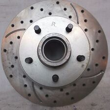 Roto-Tech Cross Drilled Slotted RH Front Brake Rotor Fits GM Car Family 78-92