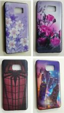 Case For Samsung Galaxy Note 5 Flower Building City Spider Web Soft Silicone NEW