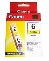 YELLOW CARTRIDGE BCI 6Y  Printer Consumables  Computer Products  CS08122