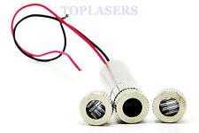 Focusable 650nm 10mw red laser diode module avec M9x0.5 dot line cross lentille & caps