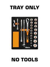 Beta Tools 2451MV83 Socket Set Foam TRAY ONLY EMPTY NO TOOLS
