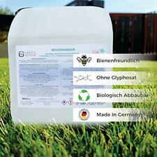Greensensor  Wegerein Steinplattenreiniger  oh. Glyphosat u. Unkrautvernichter