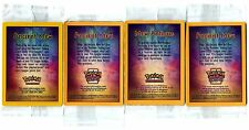 PROMO POKEMON ANCIENT MEW BRILLANT 4 DIFFERENT VERSIONS SEALED SCELLEE