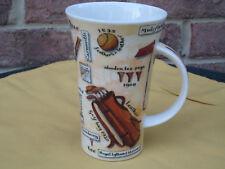DUNOON COFFEE MUG CUP DESIGN BY KATE MAWDSLEY ENGLAND FINE STONEWARE GOLF LATTE