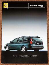 2000 RENAULT LAGUNA ESTATE Sales Brochure inc Monaco - Mint Brand New Old Stock!