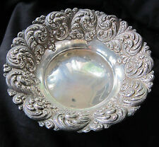 BEAUTIFUL VINTAGE STERLING SILVER BOWL - 96 GRAMS UNWEIGHTED - FREE SHIPPING