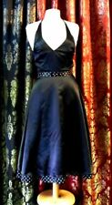 Morgan & Co. Linda Bernell Gothic Halter Swing Rockabilly prom Dress Size 3 / 4