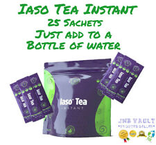 TLC Iaso Tea INSTANT 25 SACHETS Natural Cleanse Weight Loss NEW PACKAGING