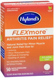 HYLANDS FLEXMOR ARTHRITIS PAIN REL 50TAB