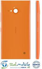 Carcasa Tapa Carga Inalámbrica NFC Nokia CC-3086 Lumia 735 Naranja Brillante