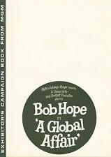 A Global Affair (1964) Bob Hope, Michèle Mercier, Elga Andersen   pressbook