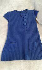 Robe Pull Tunique bleu nuit Naf Naf tailleM