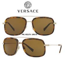 Versace Mens Sunglasses VE2173 139173  Havana/Brown Size 60 100% Authentic & New