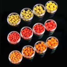 60PCS 12mm Pop Up Boilies - Carp Coarse Fishing Imitation Bait Pellet 4 Flavours