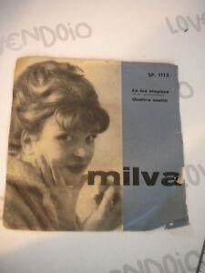 Vinile 45 giri originale MILVA - CETRA SP1113 - la tua stagione/ quattro vestiti