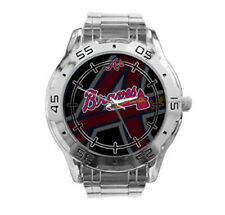 Atlanta Braves MLB Stainless Steel Analogue Men's Watch Gift