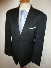 MENS TED BAKER ENDURANCE GREY WOOL SUMMER PROM SUIT JACKET 40 WAIST 34 LEG 32.5