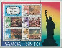Samoa 1976 SG464 USA Bicentenary MS FU