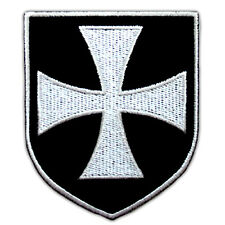 VEGASBEE® CROSS TEMPLAR CRUSADERS KNIGHTS CHRISTIAN ARMY EMBROIDERED PATCH